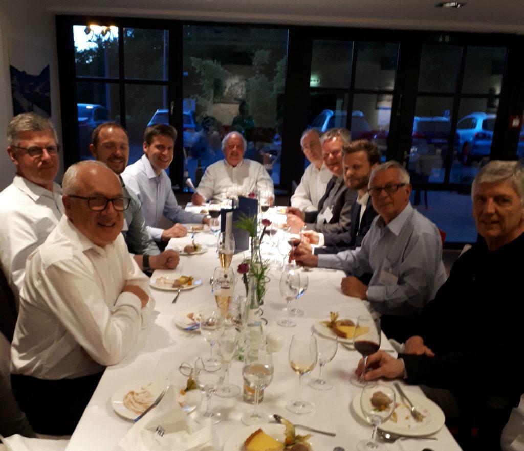 NexTrust workshop dinner in Wiesbaden April 2018